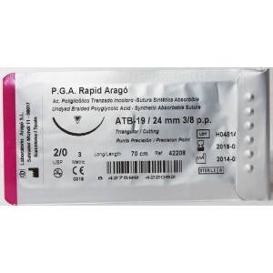 Suture Abs. PGA RAPID TC24...