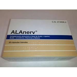 ALANERV 20 CAPS BLANDAS