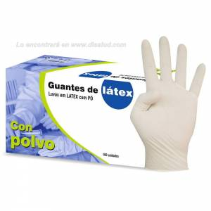 Latex Glove Powder Sigal® 100U Non-sterile