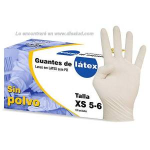 Latex Glove Powder free Sigal® 100U Non-sterile