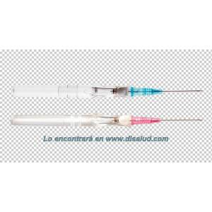 Safety catheter 24GA 0,7X19mm BD Insyte™ Autoguard™ Amarillo 1U.