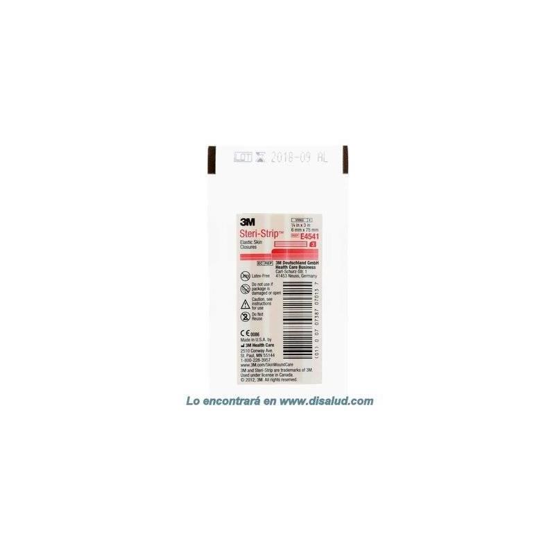 3M™ Steri-Strip™ E4541 elastic-adhesive-skin-closures 6x75mm 50 Envelopes of 3 Strips (150 Strip)