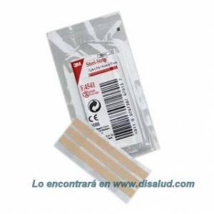 Sutura Cutánea Elástica Adhesiva 6x75mm 50 Sobres de 3 Tiras (150 Strip) Steri-Strip® 3M® E4541