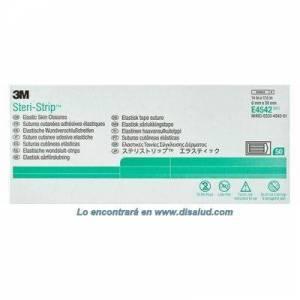 Sutura Cutánea Elástica Adhesiva 6x38mm 50 Sobres de 6 Tiras (300 Strip) Steri-Strip® 3M® E4542