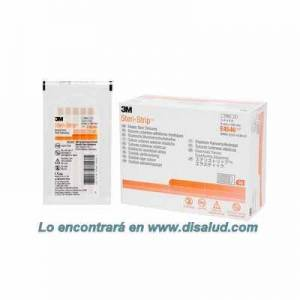 3M™ Steri-Strip™ E4546 elastic-adhesive-skin-closures 6x100mm 50 Envelopes of 10 Strips (500 Strip)