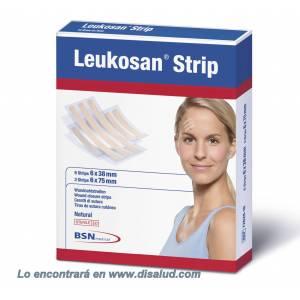 Leukosan® Strip Suture cutanée adhésive 6x38mm 50 enveloppes de 6 bandes (300 bandes). Beige