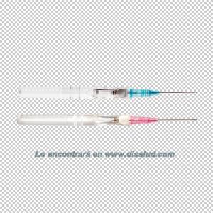 DiSalud-5433-Cateter-BD Insyte™ Autoguard™-Rosa+Azul-2