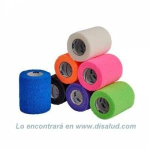 DiSalud-5212-1583N-V coban-self-adht-wrp-7,5cmX4,5m-NEON