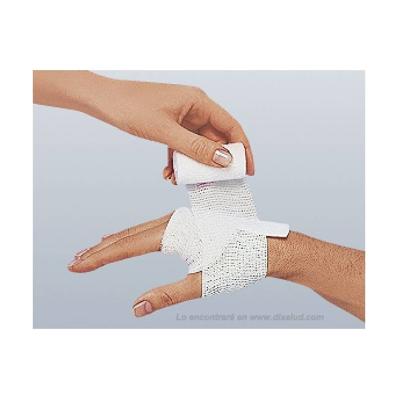 5226-Elastomull® V gasa elast malla no cohesiva-BSN®-aplica mano