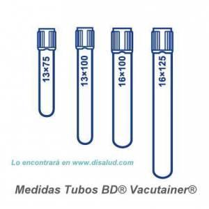 Tube BD® Vacutainer® 100 u...
