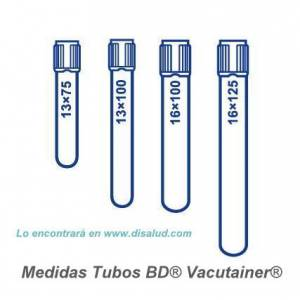 Tube BD® Vacutainer® 100 u...