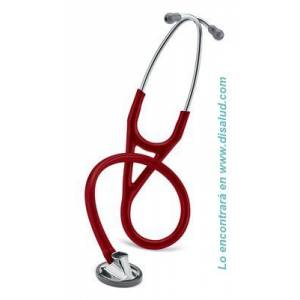 3M™ Littmann® Master Cardiology™ Stethoscope, Burgundy Tube-2163-1-disalud