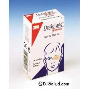 Parche ocular ortopédicos oclusivo 8.3 x 5.7cm 20 Ud. Opticlude™3M™1539